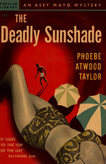 The Deadly Sunshade (McClaverty) Tags: mystery illustration paperback crime murder pulp suspense phoebeatwoodtaylor