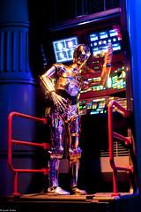 C-3PO - Star Tours - Parc Disneyland   Disneyland Paris (Quentin Douchet) Tags: france starwars ledefrance attraction c3po disneylandparis startours chessy parcdisneyland