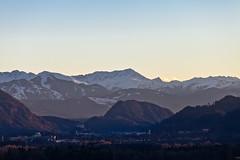 Sunset over Tyrol :) (:: Blende 22 ::) Tags: blue schnee sunset sky mountain snow canon austria sterreich sonnenuntergang himmel berge blau tyrol kufstein ef70200mmf4lisusm canoneos5dmarkii