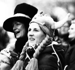 Karneval (Parcivall) Tags: bw blackwhite 85mm 15 olympus carneval mnster karneval rosenmontag em1
