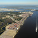 Aerial View: Dames Point Marine Terminal
