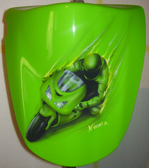 other22 (kezoairbrush) Tags: park art bike rock painting cool artwork tank mask guitar bikes luna snowboard tuning airbrush bycicles aerografo parafango aerografia carena