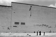 17970035 (rozuhlee) Tags: nyc blackandwhite film brooklyn hydrant 35mm fire bricks sidewalk