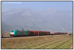 483 004 RTC (Roberto Drigo) Tags: rtc 2014 treni ferrovie 483 railtractioncompany trenimerci lineadelbrennero robertodrigo masidavio ddphotogallery