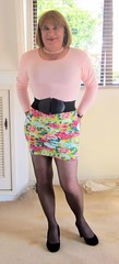 Legs,legs,legs (Trixy Deans) Tags: hot cute sexy legs tgirl transvestite crossdresser slips shortskirt