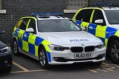 NL63 XEV (S11 AUN) Tags: car durham traffic police bmw roads touring unit 3series rpu constabulary policing 330d xdrive anpr nl63xev