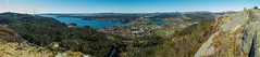 View from Fanafjellet (Terje Helberg Photography) Tags: trees sea summer mountain norway forest spring view samsung bergen fanafjellet nx1000