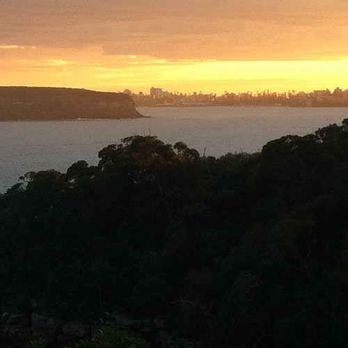 Dawn over Manly