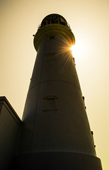 Flamborough Head Lighthouse (Tom Blanden) Tags: light sun lighthouse yorkshire beacon flamborough