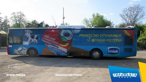 Info Media Group - Imlek, BUS Outdoor Advertising, Banja Luka 04-2015 (1)