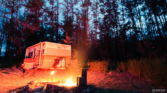 Flare Light (Grempz) Tags: camping red camp fire nikon campfire alberta flare nikkor prowler 2015 pembina 20mm18g
