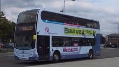 First Manchester,  Alexander Enviro 400,  SN12 AHE (NorthernEnglandPublicTransportHub) Tags: