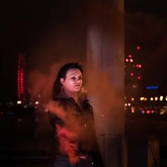 In the smoke 2 (Claymore55) Tags: lightpainters london meetup nikond750 steelwoolspinninglightpainting