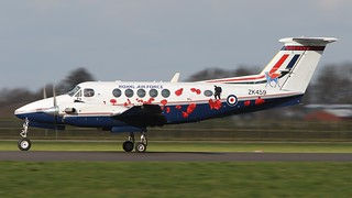 ZK459/X BEECH KING AIR  B200   45sqn  RAF