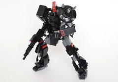 "MVCS-02-2 ""Hastati II"" Mass-Produced Combat System (ExclusivelyPlastic) Tags: lego mech mecha robot japan gundam anime figure military scifi zeon"