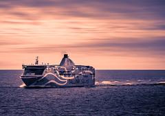 Tallink (Saad Chdhry) Tags: tallink tallin helsinki finland silja baltic cruite cruise seascape landscape sunrise sunset twilight saadchdhry