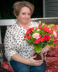 Valentine's Day 2017 (The Suss-Man (Mike)) Tags: cumming flower flowers forsythcounty georgia heather husbandandwife me sonyilca77m2 sussmanimaging thesussman wife valentinesday