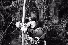 The Captain (Matías Brëa) Tags: arquera virado mujer arco guerrera