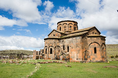 TALIN-4 (RAFFI YOUREDJIAN PHOTOGRAPHY) Tags: talin armenia armenian travel walk backpacking ferris wheel soviet church monastery ancient old ruins crumbled dilapidated abandoned derelict apocalyptic clouds graveyard