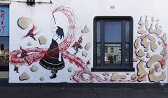 I put a spell on you (J-C-M) Tags: street wall art streetart wallart urban city artwork artistic graffiti grafitti paint painting melbourne victoria australia befree collingwood
