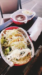 Tequeria Emanuel (amandamcl1) Tags: baecation filling tasty diffeeent rice beans sauces pepper lime deals cheap peppers salsa cheese beef chipotle shrimp vacation florida tampa date friendly lunch love spanish yummy travel tacos