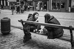 Hap snack (zilverbat.) Tags: belgium streetphotography bild streetcandid streetlife straatfotografie straatfotograaf streetscene people portrait peopleinthecity urbanlife streetshot straatportret urban blackwhitephotos blackandwhite blackwhite monochrome mono portret peopleinthestreet bw bokeh zilverbat zwartwit zwartwitfotografie blanco noir black candid