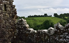 Ireland 2 (orientalizing) Tags: 1641massacre 17thcentury architecture countydonegal desktop featured ireland landscape lougherne ruins sacked1641 tullycastle