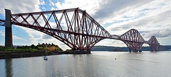 The Forth. (jamiegaquinn) Tags: sirjohnfowler sirbenjaminbaker benjaminbaker johnfowler edinburgh forth scotland forthrailbridge panorama north queensferry northqueensferry firthofforth bridge iplymouth