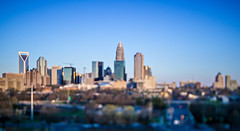 beautiful views of charlotte north crolina city skyline (DigiDreamGrafix.com) Tags: city downtown skyline north carolina charlotte business financial cloud modern sunset dusk dawn architecture exterior office skyscraper tower urban american usa cityscape cloudscape district apartment buildings metropolis dramatic location place america sightseeing skies metropolitan landmarks ncsunrise tilt tiltshift shift lens effect blur blurry pano panorama