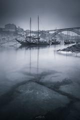 Porto, Best European destination 2017 (paulosilva3) Tags: porto best european destination boats rabelo sunrise bw lee filters manfrotto befree lowepro canon eos 6d portugal