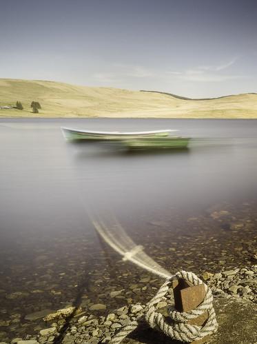 daerreservoir boat boats longexposure