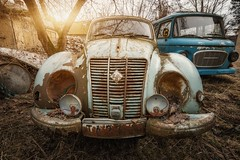 IFA (blende einspunktacht) Tags: ifa oldtimer cars car oldiron urban lostplaces lost abandoned verlasseneorte canon tokina
