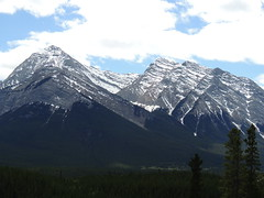 David Thompson Country (kevinmklerks) Tags: mountain canada mountains highway 11 alberta thompson