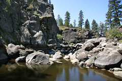FRS100466 (Chance Agrella) Tags: california trees cliff tree water pool pine river bed rocks stream feather canyon riverbed gorge wilderness rugged streambed