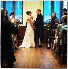Wedding (thehubroyalmile) Tags: wedding edinburgh ceremony royalmile dunardlibrary imagesofmorningside