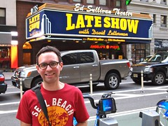Late Show with David Letterman (travelontheside) Tags: nyc newyorkcity ny newyork manhattan broadway lateshow letterman cbs davidletterman lateshowwithdavidletterman edsullivantheater