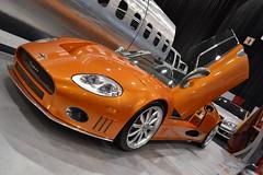 Spyker C8 Laviolette (Anthony Scott - Cleveland Photographer) Tags: auto show orange car exotic rims supercar sportscar spyker c8 laviolette lamborghinidoor