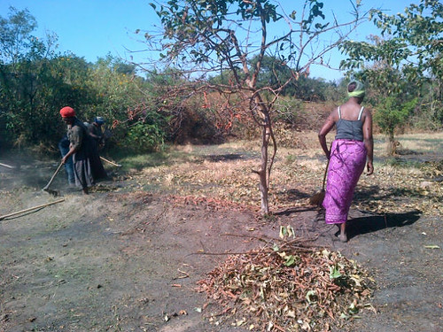 Zambia - Savannah Project in Mufulira Town - June 2013