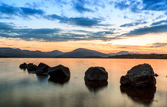 Millarochy_Bay_Rocks_(1_of_1) (RHSands) Tags: sunset water bay scotland rocks lochlomond millarochy