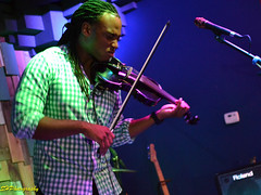 T-Ray the Violinist at Gasa Gasa on July 20, 2013
