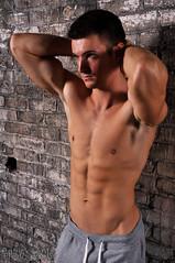 Nate 040 (Violentz) Tags: shirtless portrait man male guy model nate torso bodybuilder beefcake physique physiquemodel
