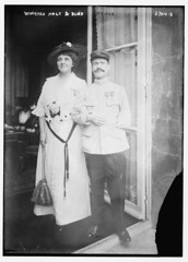 Winifred Holt and Blind Officer  (LOC) (The Library of Congress) Tags: woman man smile standing french uniform arm blind wounded wwi moustache disabled libraryofcongress mustache amputee medals disability xmlns:dc=httppurlorgdcelements11 disabilityhistory dc:identifier=httphdllocgovlocpnpggbain20652