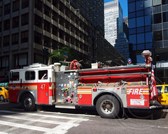 """E047e FDNY """"Pride of Morningside"""" Engine 47, New York City (jag9889) Tags: county city nyc ny newyork truck fire harlem manhattan engine company borough heights fdny department morningside firefighters 47 seagrave bravest morningsideheights 2013 engine47 e047 prideofmorningside jag9889"""