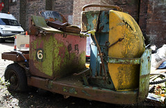 Truck (Stephen Whittaker) Tags: park 6 colour heritage abandoned electric liverpool truck hospital nikon day open mechanical exploring multicoloured orphanage vehicle derelict porters newsham seamens d5100 whitto27