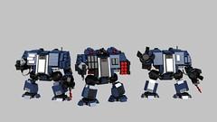 Ultramarine Dreadnought (TGBDZ) Tags: robot tank lego space walker warhammer marines mech dreadnought tgbdz