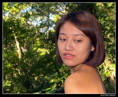 Retrato (alton.tw) Tags: portrait people woman nature face female forest hair asian island model hands asia ski
