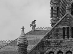 Gargoyle (Fishy60) Tags: museum architecture dallas scary gargoyle