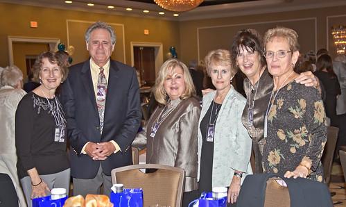 Janet Clear; Alex Luongo, Eileen Winick, Carol Emanuel, Arlene Dougherty, Mary Speer