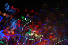 DSC_0115 (AC Fisher) Tags: christmas lightpainting abstract color lights surreal cameratoss lightplay intentionalcameramovement