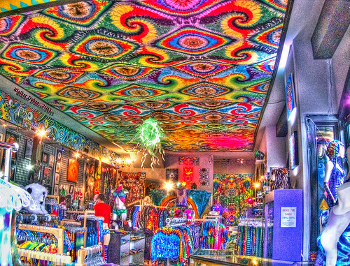 "Inside ""Jammin on Haight"" HDR"